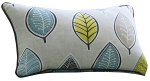 Clarke & Clarke living room cariba cushion fabric